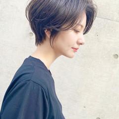 ショートボブ ショートヘア 大人可愛い ベリーショート ヘアスタイルや髪型の写真・画像