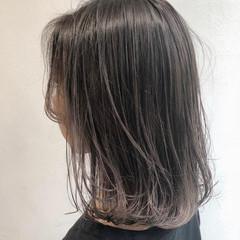 グラデーションカラー 透明感 ボブ ナチュラル ヘアスタイルや髪型の写真・画像