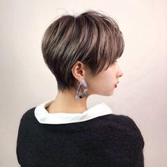 ハンサムショート ショートヘア ショートカット モード ヘアスタイルや髪型の写真・画像