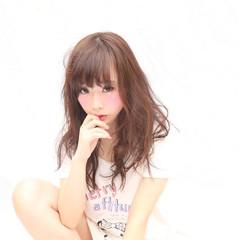 おフェロ ヘアアレンジ 暗髪 かわいい ヘアスタイルや髪型の写真・画像