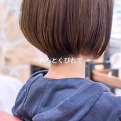 ミニボブ ショートボブ ショートヘア ショートカット ヘアスタイルや髪型の写真・画像