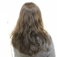 ゆるふわ ナチュラル 簡単 セミロング ヘアスタイルや髪型の写真・画像