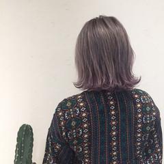ストリート 外国人風 ボブ 透明感 ヘアスタイルや髪型の写真・画像