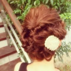 フェミニン モテ髪 ゆるふわ 大人かわいい ヘアスタイルや髪型の写真・画像
