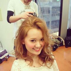セミロング ガーリー アッシュ 夏 ヘアスタイルや髪型の写真・画像