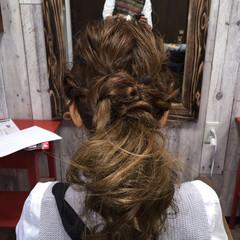 大人かわいい ヘアアレンジ ロング ヘアスタイルや髪型の写真・画像