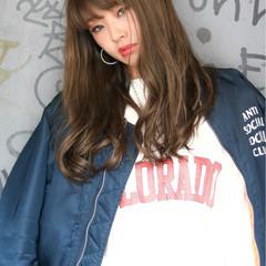 艶髪 外国人風カラー ストリート ハイライト ヘアスタイルや髪型の写真・画像