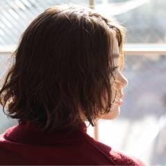 フェミニン ゆるふわ ナチュラル ショート ヘアスタイルや髪型の写真・画像