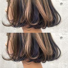 ストリート トレンド ボブ ブリーチ ヘアスタイルや髪型の写真・画像