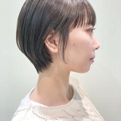 コンパクトショート ショートボブ ショートヘア ショート ヘアスタイルや髪型の写真・画像