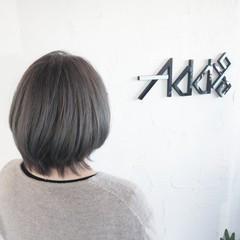 インナーカラー 裾カラー ウルフカット ミニボブ ヘアスタイルや髪型の写真・画像