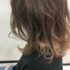 透明感 ナチュラル 外国人風カラー ハイライト ヘアスタイルや髪型の写真・画像