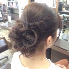 ガーリー ロング フェミニン ヘアアレンジ ヘアスタイルや髪型の写真・画像