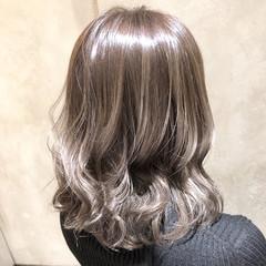 セミロング 簡単ヘアアレンジ フェミニン モテ髪 ヘアスタイルや髪型の写真・画像