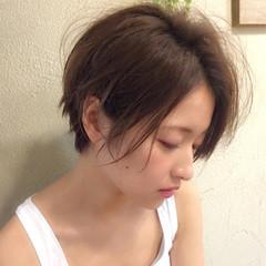 色気 くせ毛風 ボブ 外国人風 ヘアスタイルや髪型の写真・画像