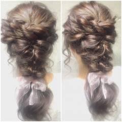 ガーリー 外国人風 大人かわいい フェミニン ヘアスタイルや髪型の写真・画像