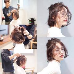 大人女子 ニュアンス ボブ こなれ感 ヘアスタイルや髪型の写真・画像