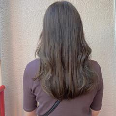 大人ハイライト ロング 外国人風 ナチュラル ヘアスタイルや髪型の写真・画像