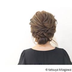 エレガント ゆるふわ ロング 結婚式 ヘアスタイルや髪型の写真・画像