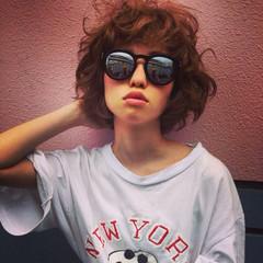 モード 色気 大人女子 小顔 ヘアスタイルや髪型の写真・画像