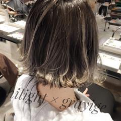 ボブ 切りっぱなし ストリート タンバルモリ ヘアスタイルや髪型の写真・画像