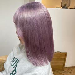 ハイトーンカラー 艶カラー ブリーチ必須 モード ヘアスタイルや髪型の写真・画像
