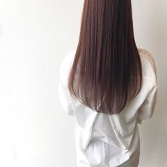 大人ロング ロングヘアスタイル アッシュブラウン ナチュラル ヘアスタイルや髪型の写真・画像