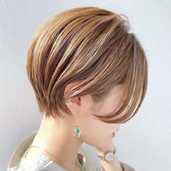ベリーショート ショートヘア ショートボブ ミニボブ ヘアスタイルや髪型の写真・画像