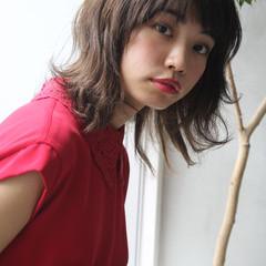 大人ミディアム ミディアム ミディアムヘアー ミディアムレイヤー ヘアスタイルや髪型の写真・画像