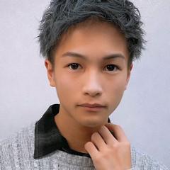 モード メンズカラー メンズカット モテ髪 ヘアスタイルや髪型の写真・画像