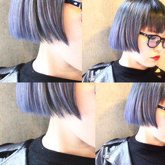 ハイライト アッシュ モード 色気 ヘアスタイルや髪型の写真・画像