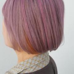 最新トリートメント フェミニン ボブ 透明感カラー ヘアスタイルや髪型の写真・画像
