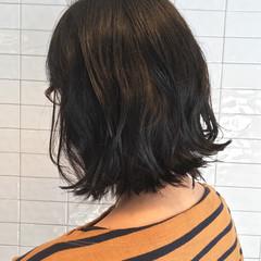 切りっぱなし 大人女子 ナチュラル 簡単 ヘアスタイルや髪型の写真・画像