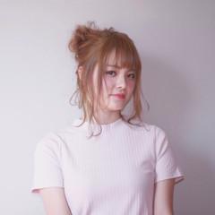 ガーリー リラックス 女子会 ルーズ ヘアスタイルや髪型の写真・画像