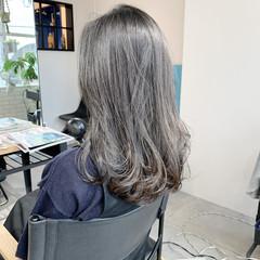 ロング マット 秋ブラウン ナチュラル ヘアスタイルや髪型の写真・画像