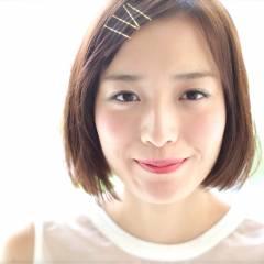 暗髪 フェミニン ヘアアレンジ ナチュラル ヘアスタイルや髪型の写真・画像