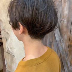ナチュラル ショート ショートヘア メンズカット ヘアスタイルや髪型の写真・画像