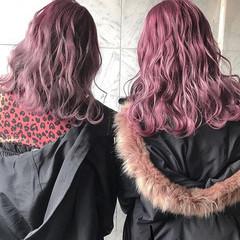 ハイトーンカラー ロング ブリーチ ハイトーン ヘアスタイルや髪型の写真・画像