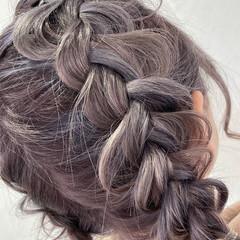 ブリーチ ボブ ヘアアレンジ 簡単ヘアアレンジ ヘアスタイルや髪型の写真・画像