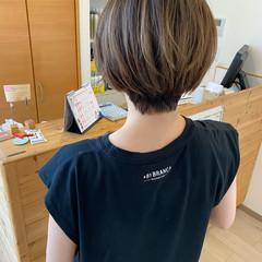 ベリーショート ナチュラル ミニボブ ショートヘア ヘアスタイルや髪型の写真・画像
