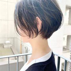 ゆるふわ オフィス デート ベリーショート ヘアスタイルや髪型の写真・画像