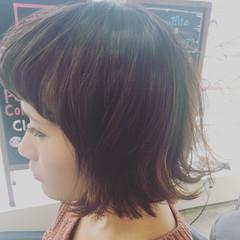 前髪あり ストリート ボブ ヘアアレンジ ヘアスタイルや髪型の写真・画像