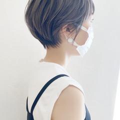 ハイライト ショート ショートボブ ベリーショート ヘアスタイルや髪型の写真・画像