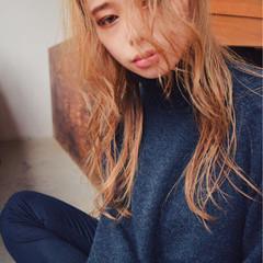 大人かわいい ヘアアレンジ 外国人風 ストレート ヘアスタイルや髪型の写真・画像