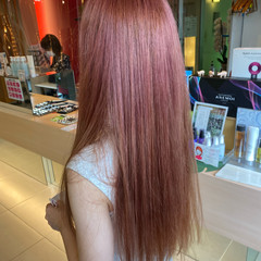 グラデーションカラー ロング ガーリー ダブルカラー ヘアスタイルや髪型の写真・画像