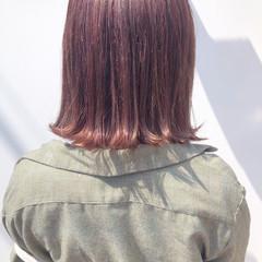 ボブ ナチュラル 春 春ヘア ヘアスタイルや髪型の写真・画像