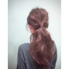 大人かわいい 簡単ヘアアレンジ ヘアアレンジ ゆるふわ ヘアスタイルや髪型の写真・画像
