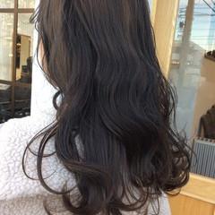 フェミニン ヘアアレンジ アッシュ グレージュ ヘアスタイルや髪型の写真・画像