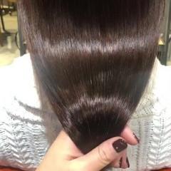 最新トリートメント 美髪 ツヤ髪 セミロング ヘアスタイルや髪型の写真・画像