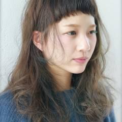 ヘアアレンジ ガーリー 春 ミディアム ヘアスタイルや髪型の写真・画像